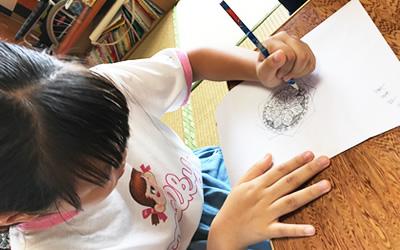 曼荼羅アートの練習