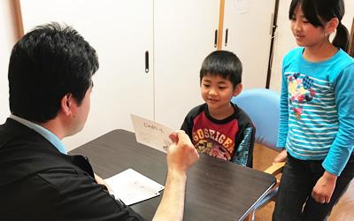 言語聴覚士による発語訓練